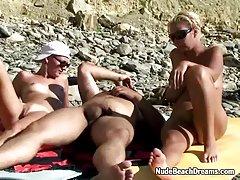 threesome ffm swingers en la playa