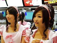 Comida xxx zorras rápida lindo camareras 2