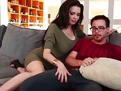 Mamá videos pirno caliente sopla a ex novio hija!!!