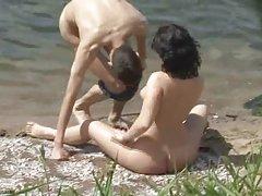 sexo playa (c)